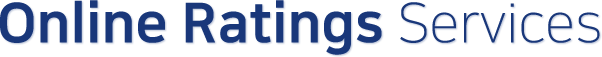 Online Ratings Services